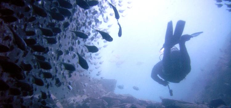 Unterwasserhöhle auf Mallorca