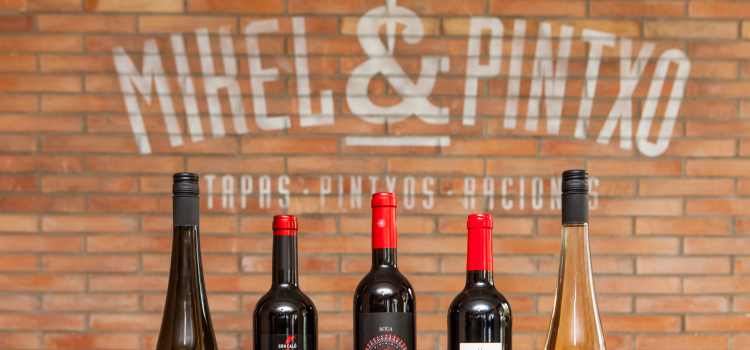 Wines at Mikel & Pintxo Restaurant
